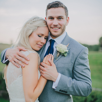 Eve & Tom | A Cotswolds Barn Wedding