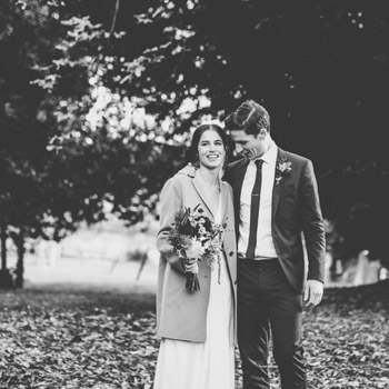 Luke & Mary | a small october wedding